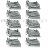 Compatible HP Set of 10 Black 64A / CC364A Laser Toner Cartridges - 100000 Page Yield
