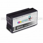 Replacement Ink Cartridge for HP 952XL (F6U19AN) High Yield Black - Shows Accurate Ink Levels - 2000 Page Yield