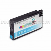 Replacement Ink Cartridge for HP 952XL (L0S61AN) High Yield Cyan - Shows Accurate Ink Levels - 1600 Page Yield