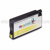 Replacement Ink Cartridge for HP 952XL (L0S67AN) High Yield Yellow - Shows Accurate Ink Levels - 1600 Page Yield