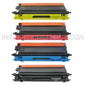 4 Pack : Compatible Brother TN115 Cyan,Magenta,Yellow,Black Toner Cartridge