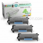 3-Pack INKUTEN Replacement Brother TN880 Super High Yield Black Toner Cartridges