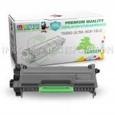 INKUTEN Compatible Brother TN890 Black Ultra High Yield Toner Cartridge - 20000 Yield