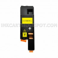 Compatible Toner to Replace Dell 332-0402 (XY7N4) Yellow Toner Cartridge for your Dell C1660w Color Printer