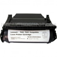 Compatible Black Laser Toner Cartridge for Lexmark 12A6765 (T620, T622, X620 Series Printers) - 30,000 Page Yield