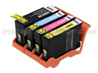 Lexmark Compatible 150XL Set of 4 High Yield Ink Cartridges: 1 Black & 1 each of Cyan, Magenta and Yellow
