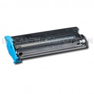 Compatible Konica-Minolta QMS MagiColor 2300 1710517-008 Cyan Laser Toner Cartridge - 4,500 Page Yield