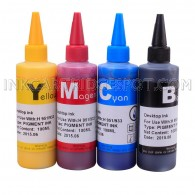 4x100ml Premium Pigmented ink for EPSON T200 T200XL