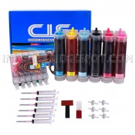[Continuous Ink Supply System] For EPSON R200 R220 R300 R320 R340 RX500 RX600 RX620 Inkjet Printers CISS CIS