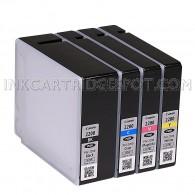 Canon MAXIFY PGI-2200 Genuine Ink Cartridge Full Set Multi-pack (Black, Cyan, Magenta, Yellow) Canon MAXIFY iB4020 MB5020 MB5320 MB5120 MB5420 iB4120