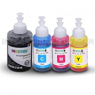 INKUTEN 774 664 Refill Ink Kit (140ml BK 70ml CMY) for WorkForce ET 3600 WorkForce ET 16500 WorkForce ET 4550 WorkForce ET 4500