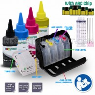 HP 932 933 CIS CISS Continuous Ink Supply System For officejet 6100 6600 6700 officejet 7110 7610 wide format Printers with 4x100ml Dye Ink Bottle Set