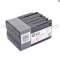 HP 950 Bk + 951 C/M/Y Setup Cartridge Officejet 8100 / 8600 / 8610 / 8620 / 8630