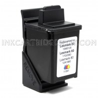 Lexmark Compatible 12A1980 (#80) Color Ink Cartridge - 275 Page Yield