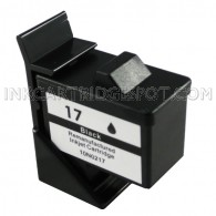 Lexmark Compatible 10N0017 (#17) Black Ink Cartridge - 410 Page Yield