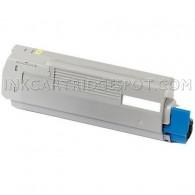 Okidata C710 Compatible 43866101 Yellow Laser Toner Cartridge