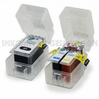 Canon PG240 PG-240XL CL241 CL-241XL Cartridge set Pop Cart refill inserts for Canon printers
