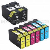 8 PK Canon PGI-1200XL Replacement Ink Cartridges (2 Black 9183B001, 2 Cyan 9196B001, 2 Magenta 9197B001, 2 Yellow 9198B001, 8-Pack)