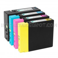 Compatible Canon PGI-2200XL Set of 4: 1 Each of Black, Cyan, Magenta, & Yellow Ink