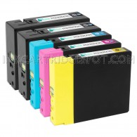 Compatible Canon PGI-2200XL Set of 5: 2 of Black, 1 Cyan, 1 Magenta, & 1 Yellow Ink