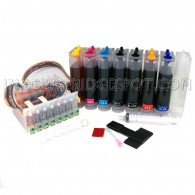 [Continuous Ink Supply System] for Epson Stylus Photo Printers R800 R1800 CISS CIS