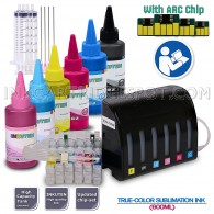 Ciss Continuous Ink Supply System for 79 T079 #79 Artisan 1430 Printer 6x100ml True Color Sublimation ink