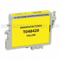 Epson T048420 (T0484) Yellow Compatible Ink Cartridge - 400 Page Yield