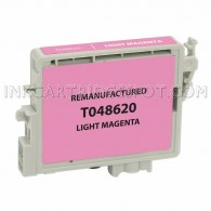 Epson T048620 (T0486) Light Magenta Compatible Ink Cartridge - 400 Page Yield