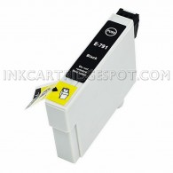 Epson T079120 (T0791) High Yield Black Compatible Ink Cartridge - 470 Page Yield