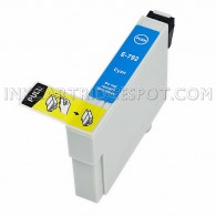 Epson T079220 (T0792) High Yield Cyan Compatible Ink Cartridge - 810 Page Yield