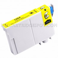 Replacement for Epson T126420 (T1264) High Yield Yellow Ink Cartridge
