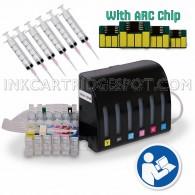 EMPTY CISS for Epson Epson 79 #79 T079 Stylus Photo 1400, Epson Artisan 1430