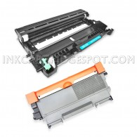 Compatible Brother TN-450 (TN450) DR-420 (DR420) Combo Pack of 2, 1 Black Toner Cartridges and 1 Pack Drum