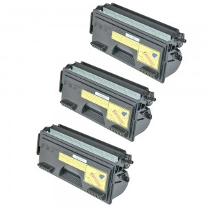 Compatible Brother TN560 Set of 3 Black Laser Toner Cartridges - 18000 Page Yield