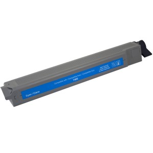 Xerox Phaser 7400 Compatible 106R01077 High Capacity Cyan Laser Toner Cartridge - 18,000 Page Yield