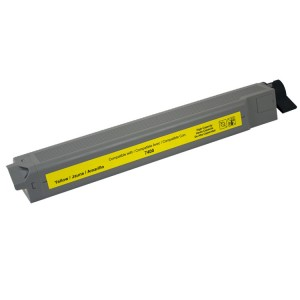 Xerox Phaser 7400 Compatible 106R01079 High Capacity Yellow Laser Toner Cartridge - 18,000 Page Yield