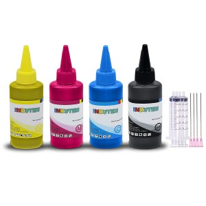 Ink Cartridge Refill Kit for Dell Series 31/32/33/34 (100ml Black, 100ml per color, total 400ml) Made in the USA Compatible with Dell V525w V725w Printer