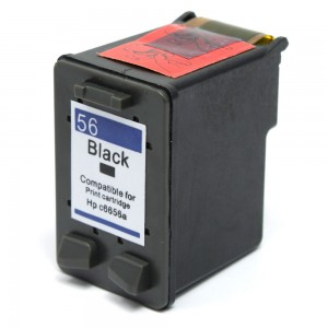 HP C6656AN / C6656A (HP 56 Black) Compatible Ink Cartridge - 450 Page Yield