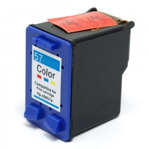 HP C6657AN / C6657A (HP 57 Tri Color) Compatible Ink Cartridge - 391 Page Yield