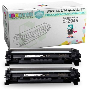 2 Pack Compatible HP CF294A (HP 94A) Black Laser Toner Cartridge