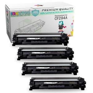 4 Pack Compatible HP CF294A (HP 94A) Black Laser Toner Cartridge