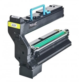 Konica Minolta MagiColor 5430 DL & 5450 Compatible 1710580-002 Yellow Laser Toner Cartridge - 6,000 Page Yield
