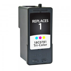 Lexmark #1 18C0781 Compatible Color Ink Cartridge - 190 Page Yield