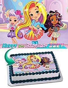 Sunny Day Nick Jr Nickelodeon Edible Cake Image Personalized Icing Sugar Paper A4 Sheet Edible Frosting Photo Cake 1/4 ~ Best Quality Edible Image for cake