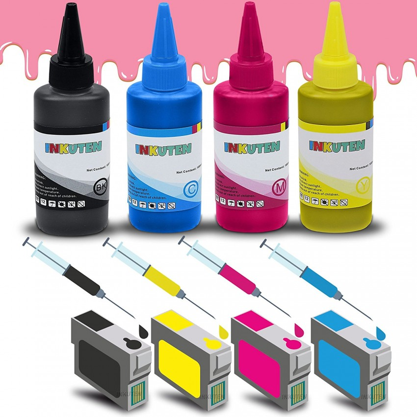 4 Easy-to-refill Cartridges For EPSON 220 T220XL