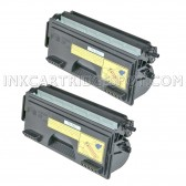 Compatible Brother TN560 Set of 2 Black Laser Toner Cartridges - 12,000 Page Yield