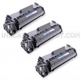 Compatible Canon 104 (FX9/FX10) Set of 3 Black Laser Toner Cartridges - 6000 Page Yield