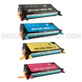 Replacement Xerox Phaser 6180 Set of 4 High Capacity Laser Toner Cartridges