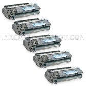 5 Compatible Canon 106 Toner Cartridges - 25000 Page Yield