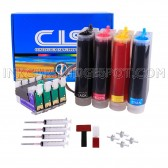 Continuous Ink Supply System for Epson T200 Expression XP-200 XP-300 XP-400 Workforce WF2520 WF2530 WF2540 Printers CISS CIS